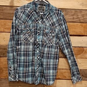 Men's BKE Vintage Buttom Up Shirt